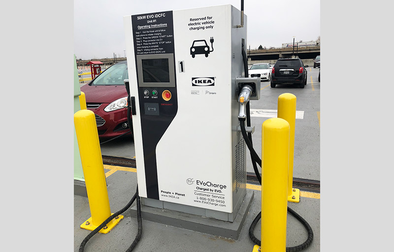 DC Quick charging station